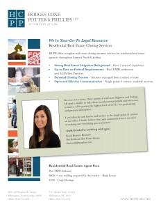Residential Closing Attorney Flyer