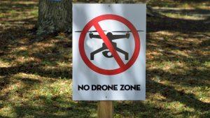 no-drone-zone-area-sign